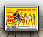 Dr No  (2) : Vintage Bond movie advert, Wall art , poster, Reproduction. £3.89 GBP