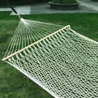 bars and lounges in hackensack nj - Cotton Rope Hammock Bed Swing with Spreader Bar
