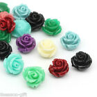 Wholesale Lots Gifts Mixed Synthetic Coral Flower Beads 12mmx12mm