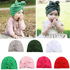Baby Newborn Toddler Infant Girl Boy Winter Warm Bowknot Hat Beanie Cap
