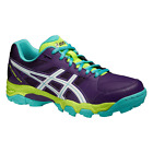 WOMEN'S Asics Gel-Lethal MP 6 Hockey Shoes Plum/Lime/Teal  - Multi-Surface