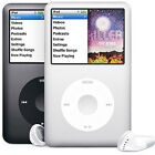 Apple iPod Classic 5th, 6th, 7th Generation - Used - 30GB 60GB 80GB 120GB 160GB  <br/> Black / Silver and White / Silver Thin and Thick / Fat