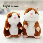 Cute Pet Plush Toy Stuffed Animals Sound Record Talking Hamster