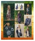 Womens Flower Power Kimono with Arm Holes - Best Seller - Various Colors