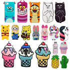 3D Cartoon Animals Silicone Rubber Gel Soft Case Cover For Samsung J5/7 J3 Prime
