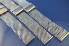 Divers Stainless Steel Shark Mesh Watch Strap Bracelet Fit Seiko Monster 10 - 24