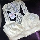 Choose Color FREE PEOPLE X-Small XS Galloon Lace Racerback Bralette Bra Festival