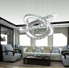 Modern LED Contemporary Crystal Chandelier Ceiling Pendant Lighting Lampshade