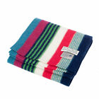 Heritage of Scotland Felt Across Multicolor Striped Lambswool Knitted Scarf