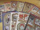 Hunkydory A Christmas Past Luxury Card Sets - 1 Topper Sheet & 2 Backings Cards