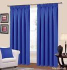Manhattan Black Out Curtains Thermal Pencil Pleat Pink Blue
