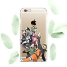 Anime Naruto Art Design Silicone Soft Rubber Case Cover Back For Apple iPhone