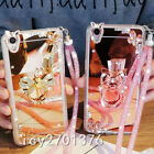 Luxury Bling Diamond Crystal Ring Holder stand Mirror Phone Case Cover & strap 7