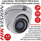 HIKVISION DS-2CE56H1T-ITM 5MP 1080p HD EXIR Turret CCTV Camera-20m IR 2.8mm lens