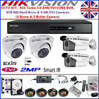 4Ch Hikvison DS-7204HQHI-F1/N DVR wtih Camera & Hard drive - CCTV Security Kit
