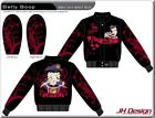 "NEW Ladies Betty Boop Twill Jacket by JH Design ""QUEEN OF THE ROAD""  Rockabilly $175.0 AUD on eBay"