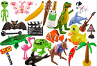 Inflatable Items Scene Setters Props - Flamingo Cactus Ball Animal + Many More!