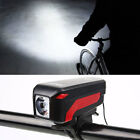 Bicycle Cycle Touch Control Horn LED Front Lamp Bike Spotlight Headlight