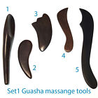 Wooden GUASHA MASSAGE Tools BODY Equipment REFLEXOLOGY THERAPY Face Spa Shop
