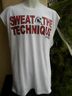 AND 1 One T-shirt BASKETBALL SWEAT THE TECHNIQUE White Nwt's