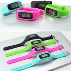 Внешний вид - Kids LCD Pedometer Go School Run Step Walking Calorie Counter Watch Bracelet New