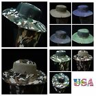 Mesh Bucket Hat Hunting Fishing Military Hats Snap Brim Neck Cover Army Cap