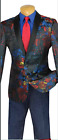 Single breasted 1 button, shawl lapel slim fit sport coat