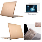 Hard Rubberized Case Cover + Soft Keyboard for Mac Macbook Air 13