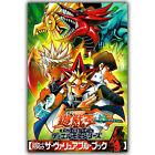 Yu Gi Oh YuGiOh Slifer The Sky Dragon Classic Anime Art Wall Decor Silk Poster