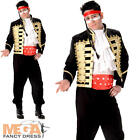 Prince Charming Mens Fancy Dress 80s New Romance Adam Ant Pop Star Adult Costume