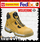 New Wolverine Work Boots Safety Steel Toe Cap BOA  Tarmac W81018