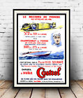 Le Record du Monde : Vintage  advertising , Wall art , poster, Reproduction.