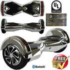"8"" Electric LED Bluetooth Hoverboard Self Balancing Scooter UL2272 Certified"