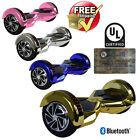 """8"""" Electric LED Bluetooth Hoverboard Self Balancing Scooter UL2272 Certified"""