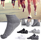 POP Mens Sports Compression Running Anti-Blister Five Finger Five Toe Socks