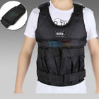 44/110lbs Weighted Vest Jacket Adjustable Workout Weight Exercise Training Waist