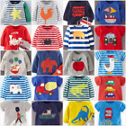 NEW JUST IN Baby Boden Boys Applique Top T Shirt Short Sleeve 0-3 Mths - 3 Yrs