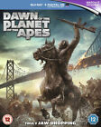 Dawn of the Planet of the Apes (Blu-ray Disc, 2014, Includes Digital Copy...