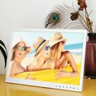 "15"" HD LED Digital Photo Frame Picture Album Clock Calendar Movie Player LOT OW"