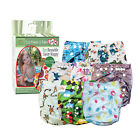 LUVME Swim Nappy Baby Cover Reusable Multifit Diaper Pants Cloth Nappies Swimmer