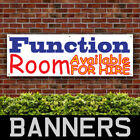 Function Room Available For Hire PVC Banner Outdoor Office Signs (BANPN00257)