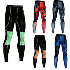 Mens Fitness Activewear Compression Long Pants Workout Bodybuild Training Tights