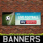 Watch Live Football Here 3 Sky Sports PVC Banner Pub Signs (BANPN00271)