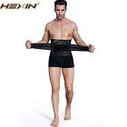 Hot Latest Men 's Waist Belt Shapewear Breathable Tight Black Abdominal Binder