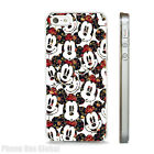 MICKEY MOUSE DISNEY FLORAL PATTERN CLEAR IPHONE CASE FITS 4  5 5C  6 7 SE Plus