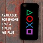 New Playstation Controller Buttons Logo PS3 PS4 for iPhone 6 6s 6+ 6s+ Case