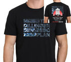 The Dillinger Escape Plan Farewell Tour 2017 T-SHIRT Men's Black Size S-to-XXL