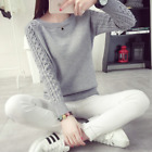Fashion Women Autumn/Winter Warm Knitted Pullover Sweater Jumper Knitwear Tops