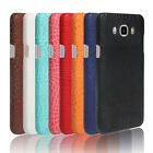 Crocodile leather hard back shell case cover For Samsung Galaxy J7 (2016) J710