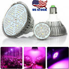 20/30/50/80W LED Grow Light E27 Lamp Bulb for Plant Hydroponic Full Spectrum USA